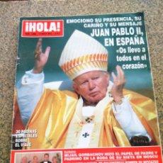 Coleccionismo de Revista Hola: REVISTA HOLA - Nº 3066 -- 15 DE MAYO 2003 -- JUAN PABLO II EN ESPAÑA --. Lote 279553543