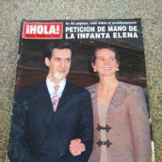 Coleccionismo de Revista Hola: REVISTA HOLA - Nº 2626 -- 8 DE DICIEMBRE 1994 -- PETICION DE MANO DE LA INFANTA ELENA --. Lote 279585888