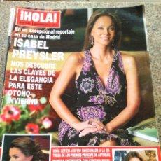 Coleccionismo de Revista Hola: REVISTA HOLA - Nº 3144 -- 4 DE NOVIEMBRE 2004 -- ISABEL PREYSLER --. Lote 280103933