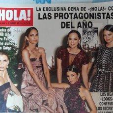 Colecionismo da Revista Hola: REVISTA HOLA NUMERO 3883 LAS PROTAGONISTAS DEL AÑO. Lote 280710773
