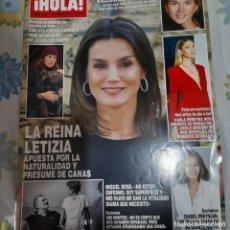 Coleccionismo de Revista Hola: REVISTA HOLA NUMERO 3887 LA REINA LETIZIA. Lote 280746733