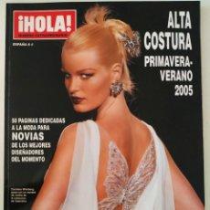Coleccionismo de Revista Hola: REVISTA ¡HOLA! NÚMERO EXTRAORDINARIO ALTA COSTURA PRIMAVERA-VERANO 2005 MODA LACROIX DIOR ELIE SAAB. Lote 283674758