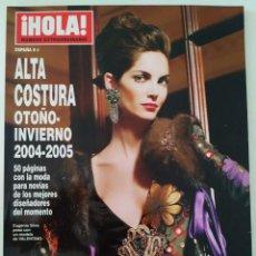 Coleccionismo de Revista Hola: REVISTA ¡HOLA! NÚMERO EXTRAORDINARIO ALTA COSTURA OTOÑO-INVIERNO 2004-2005 MODA CHANEL NOVIAS. Lote 283675388