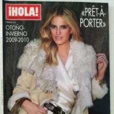 Coleccionismo de Revista Hola: REVISTA ¡HOLA! NÚMERO EXTRAORDINARIO PRET A PORTER OTOÑO-INVIERNO 2009-2010 MODA ARMANI CHANEL. Lote 283679258