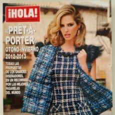 Coleccionismo de Revista Hola: REVISTA ¡HOLA! NÚMERO EXTRAORDINARIO PRET A PORTER OTOÑO-INVIERNO 2012-2013 MODA OSCAR DE LA RENTA. Lote 283680153