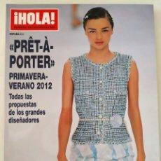 Coleccionismo de Revista Hola: REVISTA ¡HOLA! NÚMERO EXTRAORDINARIO PRET A PORTER PRIMAVERA-VERANO 2012 MODA CHANEL VALENTINO. Lote 283681788