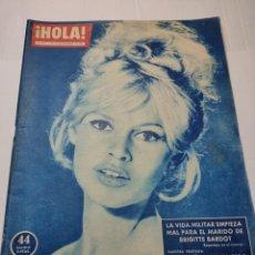 Coleccionismo de Revista Hola: REVISTA HOLA N°797 AÑO 1959 PORTADA BRIGITTE BARDOT. Lote 284031463