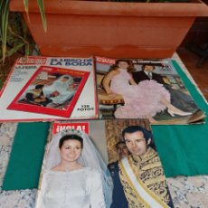 Coleccionismo de Revista Hola: REVISTA HOLA Y LA ACTUALIDAD CARMEN MARTÍNEZ BORDIU LOTE DE 3. Lote 284455958
