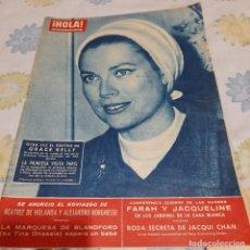 Coleccionismo de Revista Hola: REVISTA HOLA NUMERO 922, 1962 GRACE KELLY. Lote 287888668