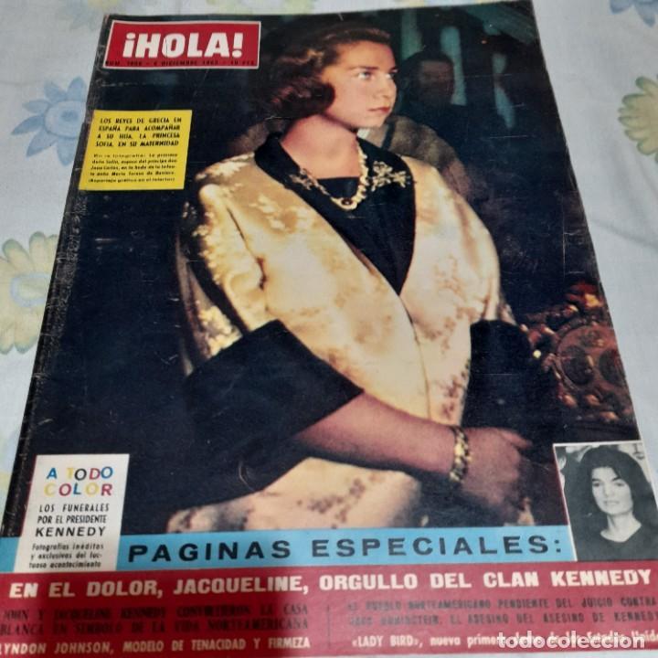 REVISTA HOLA NUMERO 1006 LOS REYES DE GRECIA EN ESPAÑA (Coleccionismo - Revistas y Periódicos Modernos (a partir de 1.940) - Revista Hola)