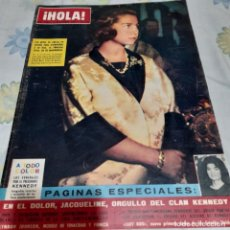 Coleccionismo de Revista Hola: REVISTA HOLA NUMERO 1006 LOS REYES DE GRECIA EN ESPAÑA. Lote 288574788