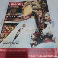 Coleccionismo de Revista Hola: REVISTA HOLA NUMERO 1011 PAPA PABLO VI. Lote 288575003