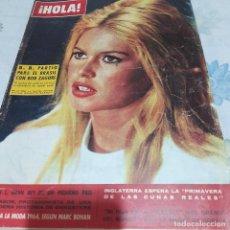 Coleccionismo de Revista Hola: REVISTA HOLA NUMERO 1012 BRIGITTE BARDOT. Lote 288575298