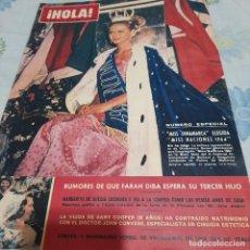 Coleccionismo de Revista Hola: REVISTA HOLA NUMERO 1037 MISS NACIONES 1964. Lote 288576343
