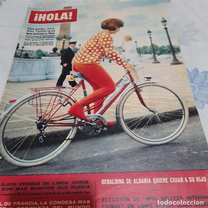REVISTA HOLA NUMERO 1043 GINA LOLLOBRIGIDA (Coleccionismo - Revistas y Periódicos Modernos (a partir de 1.940) - Revista Hola)