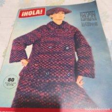 Coleccionismo de Revista Hola: REVISTA HOLA NUMERO 1046 MODA OTOÑO-INVIERNO. Lote 288576908