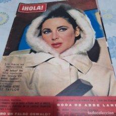 Coleccionismo de Revista Hola: REVISTA NUMERO 1062 ELIZABETH TAYLOR. Lote 288578078