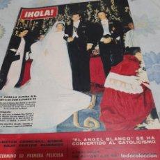 Collectionnisme de Magazine Hola: REVISTA HOLA NUMERO 1066 LA BODA DE LA BISNIETA DE ALFONSO XII. Lote 288578383