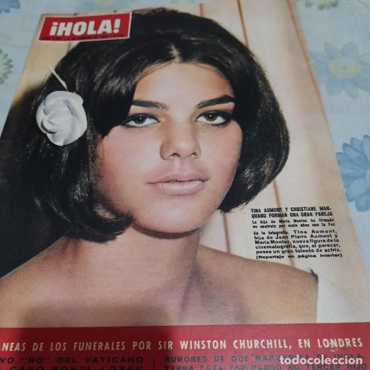 REVISTA HOLA NUMERO 1067 TINA AUMONT (Coleccionismo - Revistas y Periódicos Modernos (a partir de 1.940) - Revista Hola)