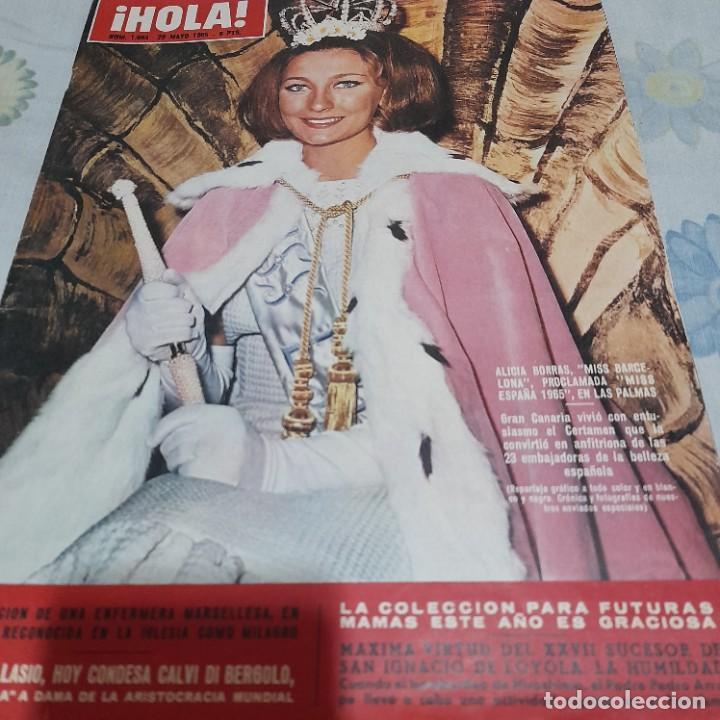 REVISTA HOLA NUMERO 1083 ALICIA BORRÁS MISS ESPAÑA (Coleccionismo - Revistas y Periódicos Modernos (a partir de 1.940) - Revista Hola)