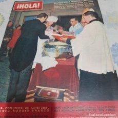 Collectionnisme de Magazine Hola: REVISTA HOLA NUMERO 1087 BAUTIZO DE LA PRINCESA CRISTINA. Lote 288581213