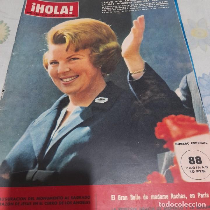 REVISTA HOLA NUMERO 1088 PRINCESA BEATRIZ DE HOLANDA (Coleccionismo - Revistas y Periódicos Modernos (a partir de 1.940) - Revista Hola)