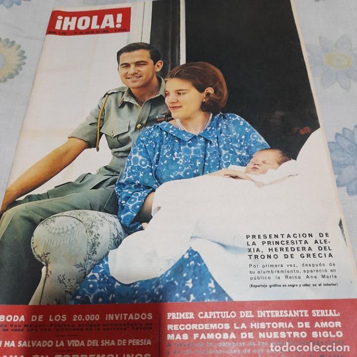 REVISTA HOLA NUMERO 1091 PRINCESA ALEXIA (Coleccionismo - Revistas y Periódicos Modernos (a partir de 1.940) - Revista Hola)