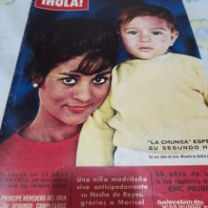 Coleccionismo de Revista Hola: REVISTA HOLA NUMERO 949 LA CHUNGA. Lote 288583013
