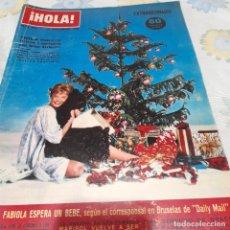 Coleccionismo de Revista Hola: REVISTA HOLA NUMERO 956 FELIZ NAVIDAD 1962. Lote 288583158