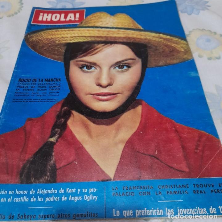 REVISTA HOLA NUMERO 958 ROCÍO DURCAL (Coleccionismo - Revistas y Periódicos Modernos (a partir de 1.940) - Revista Hola)