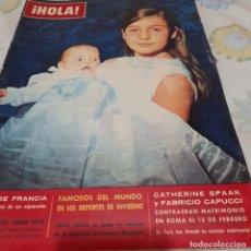 Coleccionismo de Revista Hola: REVISTA HOLA NUMERO 961 CARMENCITA MARTÍNEZ BORDIU FRANCO. Lote 288583613