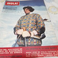 Coleccionismo de Revista Hola: REVISTA HOLA NUMERO 966 SORAYA EN ESPAÑA. Lote 288583683