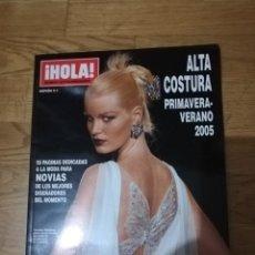 Coleccionismo de Revista Hola: HOLA. REVISTA ALTA COSTURA PRIMAVERA-VERANO 2005. Lote 288644298