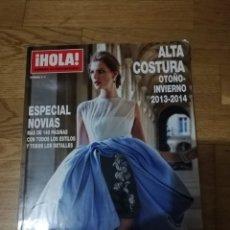 Coleccionismo de Revista Hola: HOLA. ALTA COSTURA. OTOÑO-INVIERNO 2013-2014. ESPECIAL NOVIAS. Lote 288645273