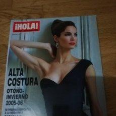 Coleccionismo de Revista Hola: HOLA- ESPECIAL ALTA COSTURA. OTOÑO-INVIERNO 2005-2006. Lote 288648168