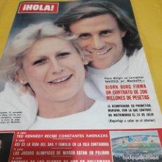 Coleccionismo de Revista Hola: REVISTA HOLA NUMERO 1850 (1980) BJORN BORG. Lote 289501128
