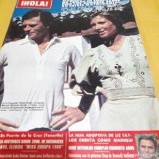Coleccionismo de Revista Hola: REVISTA HOLA NUMERO 1855 MARIOLA Y RAFAEL ARDID. Lote 289501493
