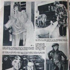 Coleccionismo de Revista Hola: RECORTE REVISTA HOLA N.º 1420 1971 CLAUDIA CARDINALE, PETER LAWFORD, MIA FARROW. JOAN COLLINS. Lote 289679373