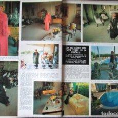 Coleccionismo de Revista Hola: RECORTE HOLA N.º 1589 1975 ZSA ZSA GABOR. Lote 289896018