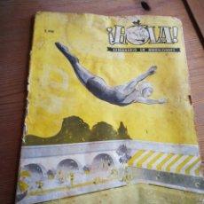 Coleccionismo de Revista Hola: INCREÍBLE EJEMPLAR REVISTA HOLA N°3, 1944. DIFÍCIL!!!.. Lote 291170088