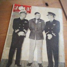 Coleccionismo de Revista Hola: REVISTA HOLA (SEMANARIO DE AMENIDADES), N°20, PORTADA FOTO CLARK GABLE, 1945.. Lote 291174278