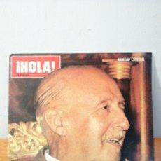 Coleccionismo de Revista Hola: ¡ HOLA ! 25 PESETAS ~ NUMERO ESPECIAL ~ CONSTERNACION NACIONAL FRANCO HA MUERTO. Lote 291351993