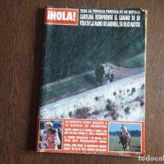 Coleccionismo de Revista Hola: REVISTA HOLA, NÚMERO 2.411, 25 OCTUBRE 1990. CAROLINA REEMPRENDE EL CAMINO DE SU VIDA ..... Lote 292941553