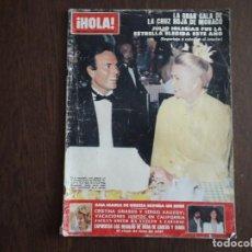 Coleccionismo de Revista Hola: REVISTA HOLA NÚMERO 1930, 22 AGOSTO 1981. JULIO IGLESIAS EN LA GALA DE LA CRUZ ROJA DE MÓNACO.. Lote 293303738