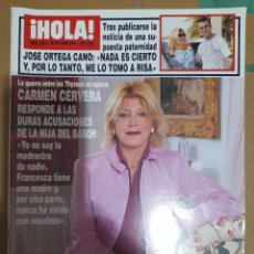 Coleccionismo de Revista Hola: REVISTA HOLA NUMERO 2933. Lote 293653508