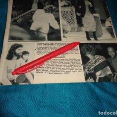 Coleccionismo de Revista Hola: RECORTE : CAMARON DE LA ISLA, TRATADO EN ESTADOS UNIDOS. HOLA, MAYO 1992(#). Lote 293735298