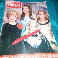 Coleccionismo de Revista Hola: RECORTE : URSULA ANDRESS, PORTADA DE REVISTA. HOLA, MARZO 1967(#). Lote 293931123
