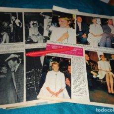 Coleccionismo de Revista Hola: RECORTE : MIA FARROW, ELIGE MODELOS DE PIERRE CARDIN. HOLA, MARZO 1967(#). Lote 293931228