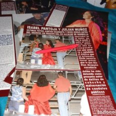 Coleccionismo de Revista Hola: RECORTE: ISABEL PANTOJA Y JULIAN MUÑOZ, ULTIMAS FOTOS ANTES DE INGRESO EN CARCEL. HOLA, AGTO 2006(#). Lote 293932863