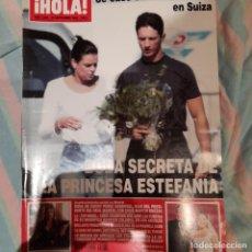 Coleccionismo de Revista Hola: REVISTA HOLA NUMERO 3085 PRINCESA ESTEFANÍA. Lote 294973488
